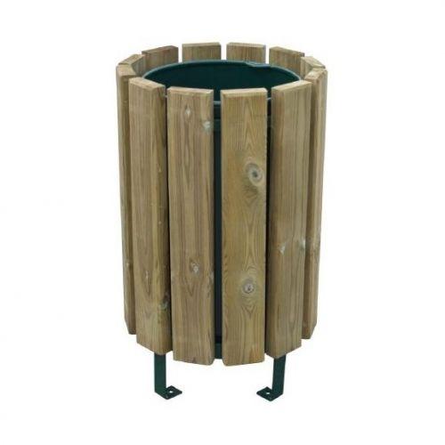 Poubelle bois eco reglementaire - Poubelle en bois ...