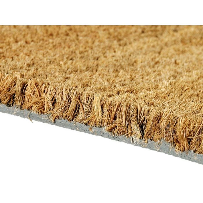 tapis d39interieur en coco naturel 17mm d39epaisseur With tapis fibre coco