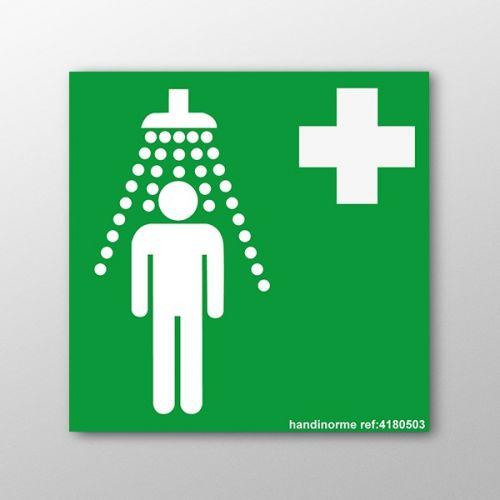 Panneau douche de s curit premiers secours - Reglementation douche de securite ...