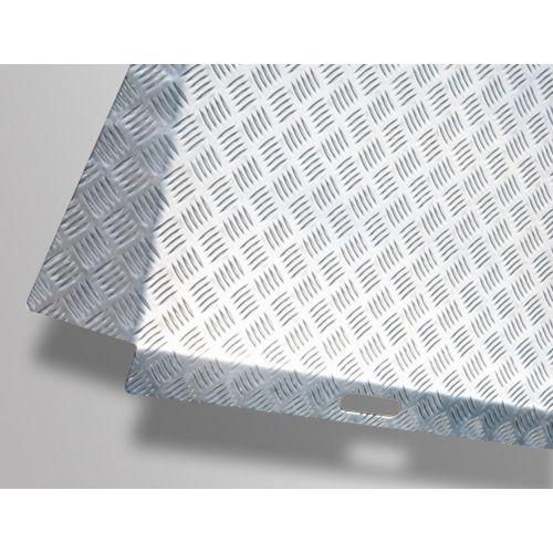 rampe de seuil en aluminium avec d bords. Black Bedroom Furniture Sets. Home Design Ideas