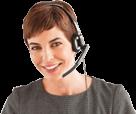 Service client au téléphone