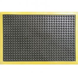 Tapis ERGOMAT 600X900 mm - Noir/jaune