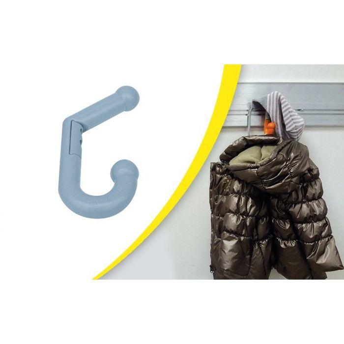 Double Porte Manteau souple pour intérieur