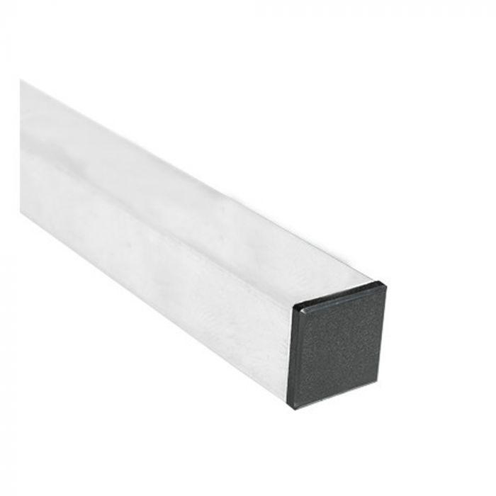 Poteau laqué blanc 40x40 mm - hauteur 1,5m à 3,5m