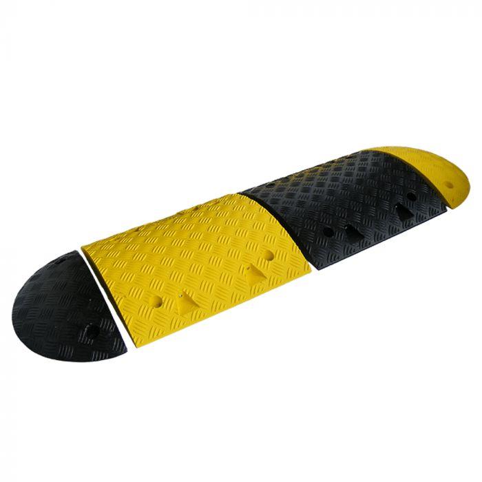 Ralentisseur 50mm - Module Central 500x425 mm - jaune ou noir