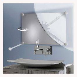 Miroir orientable avec support et miroir
