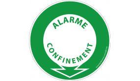 Panneau Alarme confinement