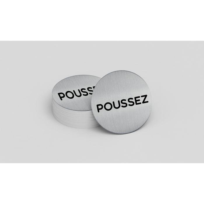 Pictogramme de porte Poussez