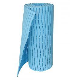 Caillebotis milieu humide, surface antidérapante rouleau bleu