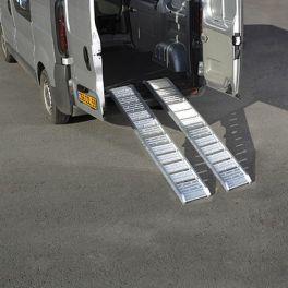 Rampe d'Accès en aluminium lisse