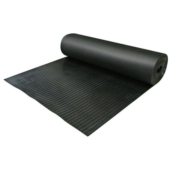 tapis anti d rapant caoutchouc larges cannelures. Black Bedroom Furniture Sets. Home Design Ideas
