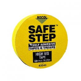 RUBAN SAFE STEP JAUNE FLUO 18,25m