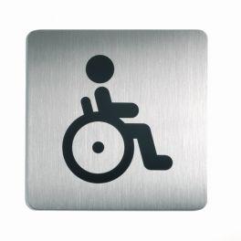 """Picto de porte carrée """"Toilettes Handicapés"""""""