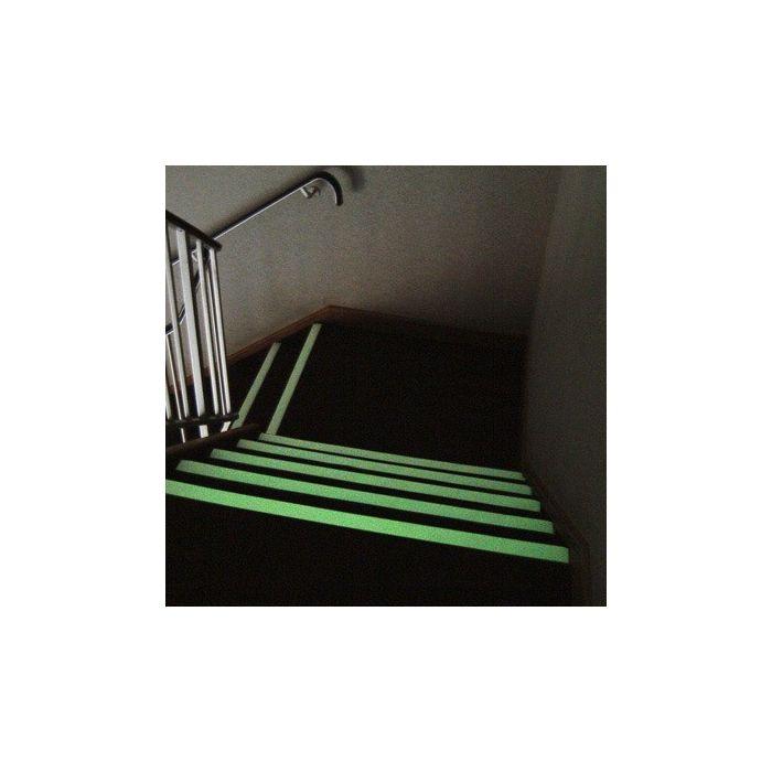 Ruban adhésif antidérapant photoluminescent