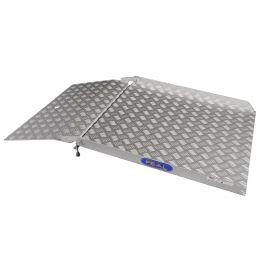 Rampe de passage pliable en aluminium
