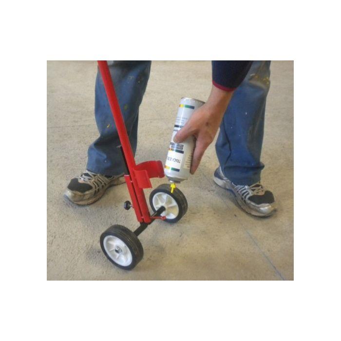 Canne de traçage 2 roues