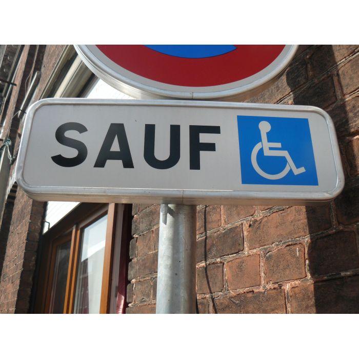 panonceau stationnement handicap m6h pour place handicap e. Black Bedroom Furniture Sets. Home Design Ideas