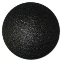 Clou Podotactile Lisse en Aluminium Noir
