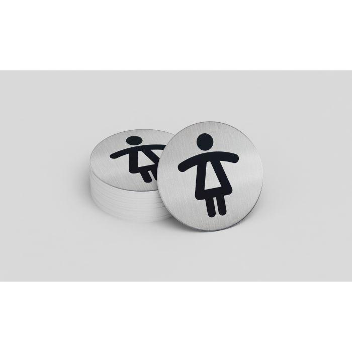 Picto de porte Toilettes Dames