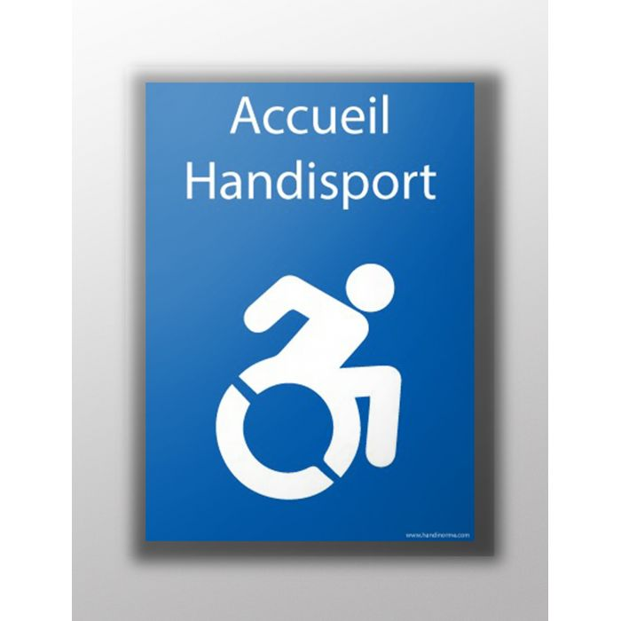 Autocollant - Accueil Handisport
