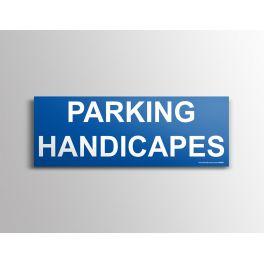 Signalisation - Parking Handicapés