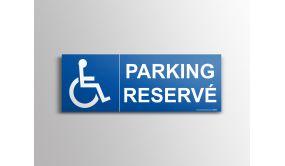 Signalisation - Parking Réservé - + picto handicapé