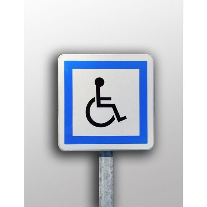 Panneau de stationner finest autocollant sticker portail for Stationnement devant garage sans panneau