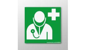 Panneau Médecin d'urgence