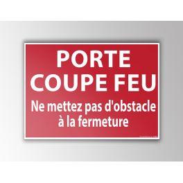 Signalisation PORTE COUPE FEU...