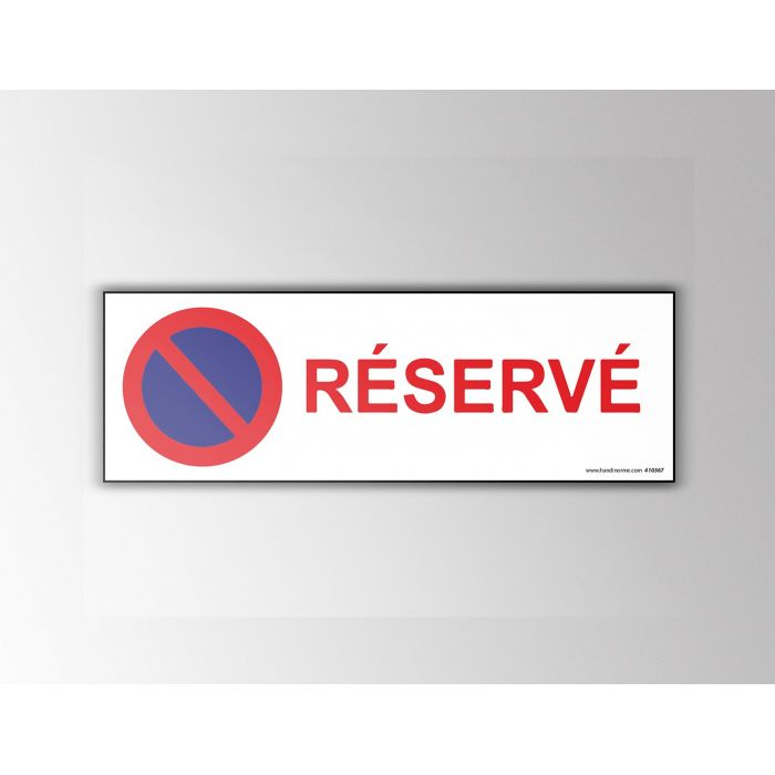 Signalisation Stationnement - Réservé