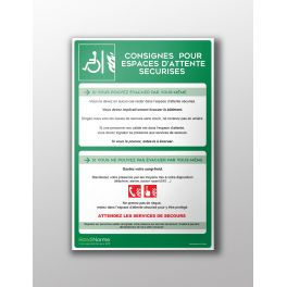 Poster Consignes EAS