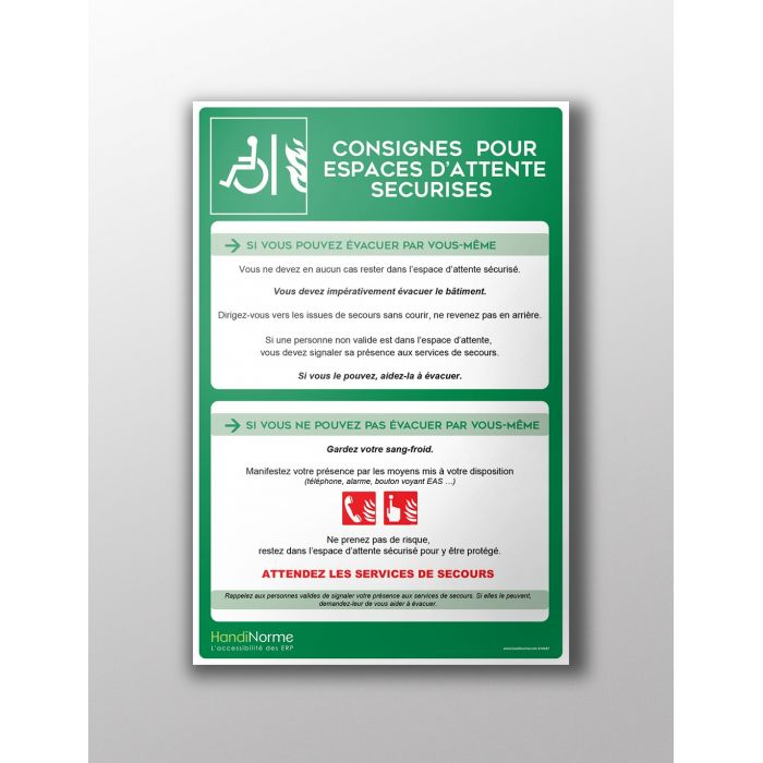 Poster Consignes EAS