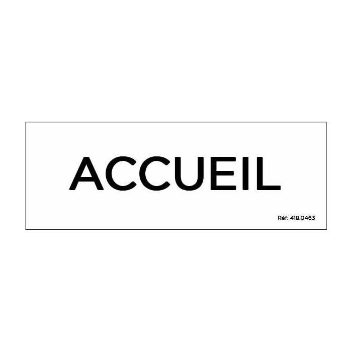 """Panneau de porte """"ACCUEIL"""""""