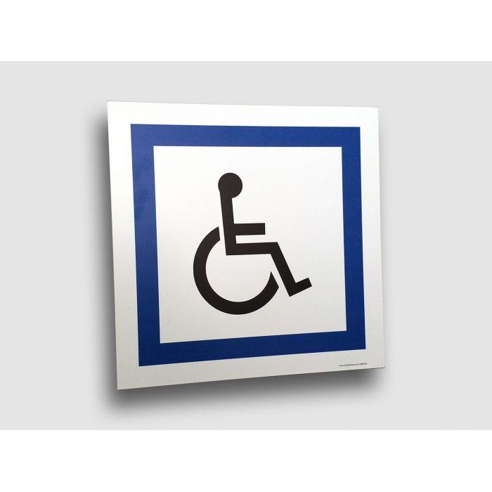 panneau de parking handicap plat ou couvre chant. Black Bedroom Furniture Sets. Home Design Ideas