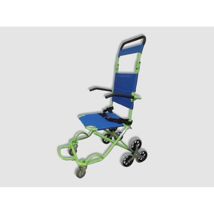 chaise de transport et d 39 vacuation 3 roues handinorme vacuation des pmr. Black Bedroom Furniture Sets. Home Design Ideas