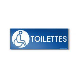 """Panneau Toilettes Design """"Handicapé"""""""