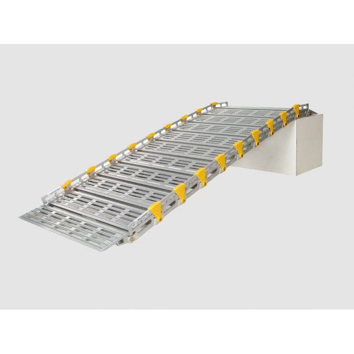 Rampe d'Accès Enroulable en Aluminium WIND