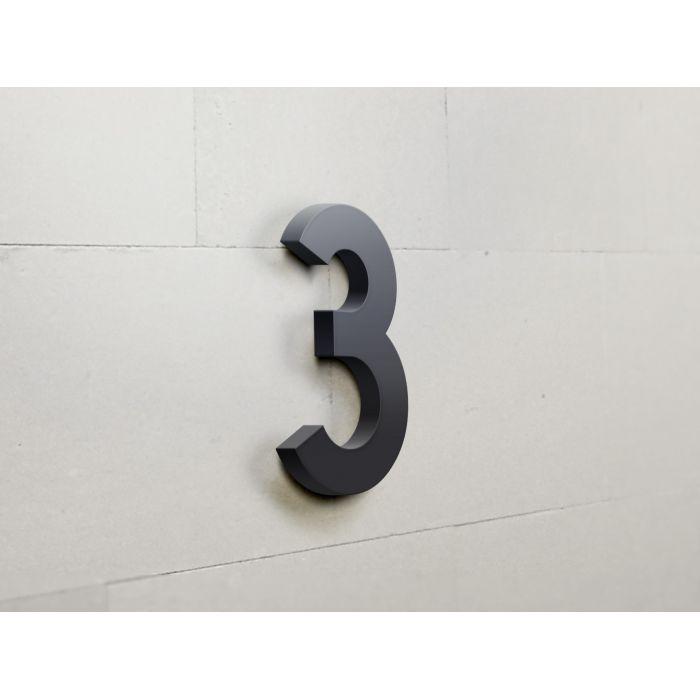 Chiffres en relief adh sif 0 9 pour plaques de porte for Adhesif de porte