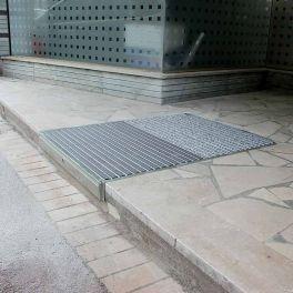 PRATIKA rampe intégrée rétractable 450 mm