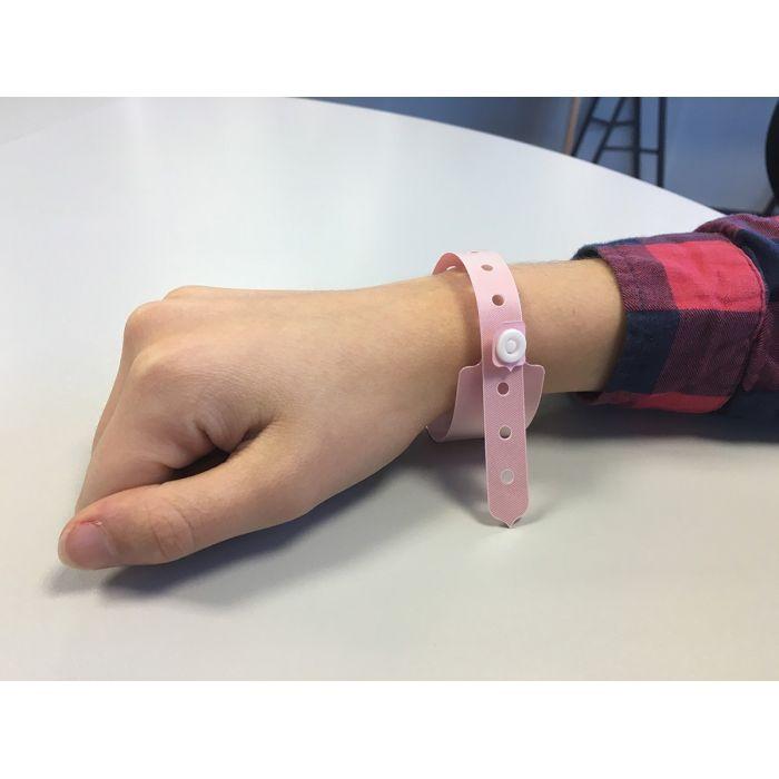 Bracelet d'identification Enfant avec plage d'écriture