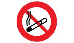Panneau rond Interdit de Fumer