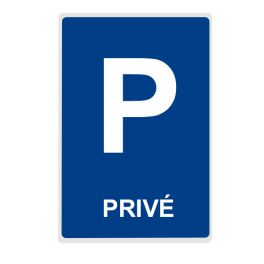 Panneau Parking PRIVE - plat