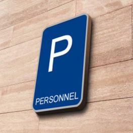 Panneau Parking Personnel à couvre-chant