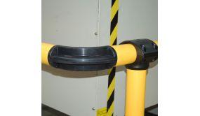 Coude de liaison à 90° pour barrière modulable