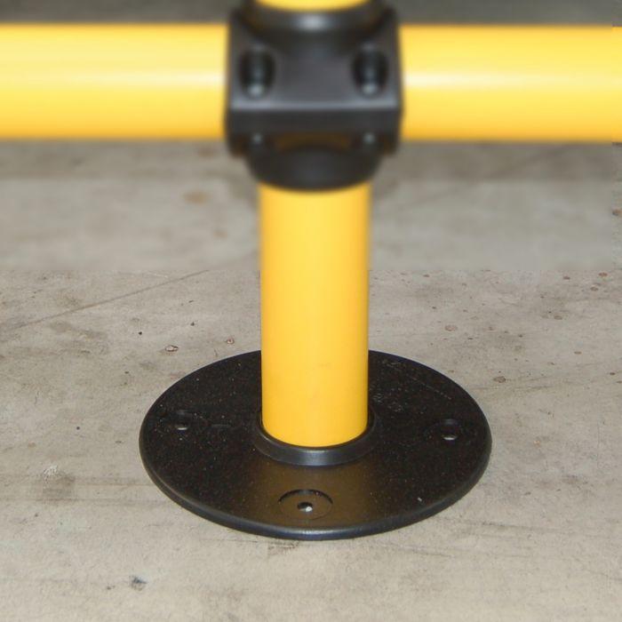 Embase pour barrière modulable