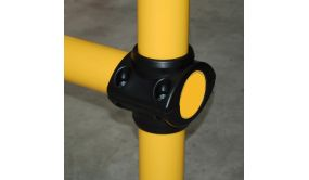 Raccord de tube pour barrière modulable