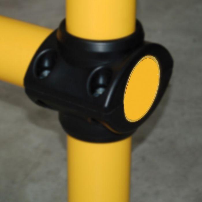 Bouchon de finition pour tube barrière modulable