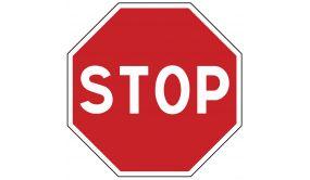 Panneau de circulation - STOP