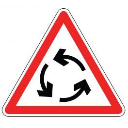 Panneau de circulation - Sens giratoire