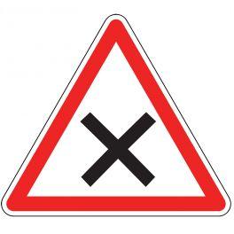 Panneau de circulation - priorité à droite